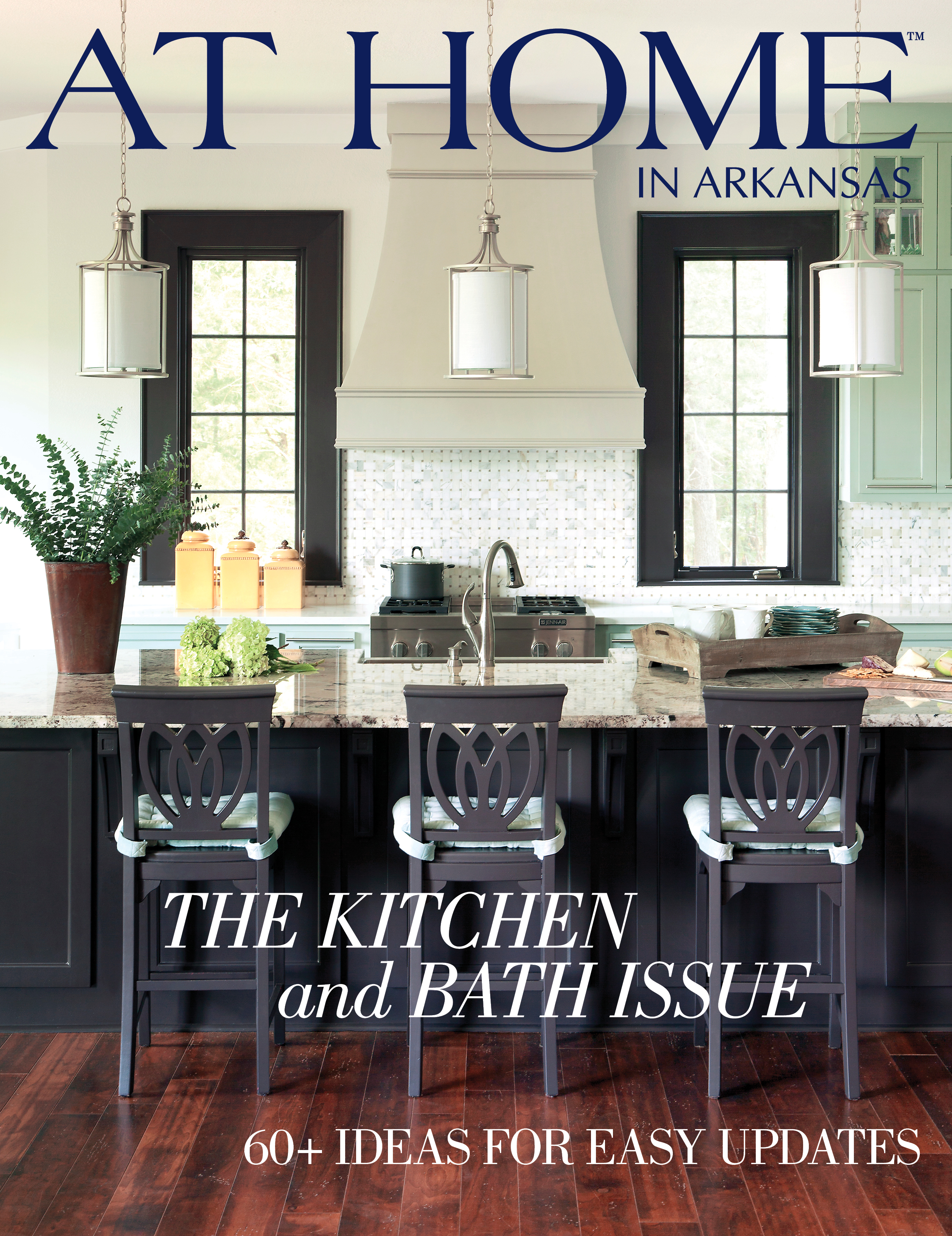At Home in Arkansas | September 2013 |  Kitchen and Bath Issue