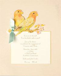 bird invitation from Sarah LeClere