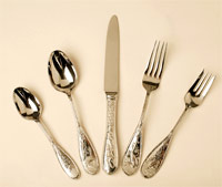 silverware setting from Ricci