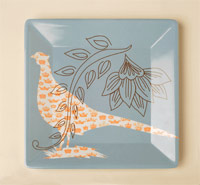 Melamine Collection plate