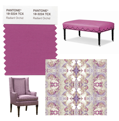 Pleasing Palette Radiant Orchid At Home In Arkansas