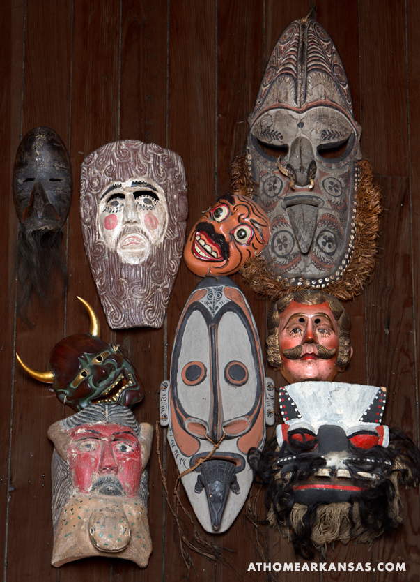 At Home in Arkansas | June 2014 | The Man Behind the Masks