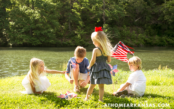 At Home in Arkansas | July 2014 | The Stars and Stripes of Summer