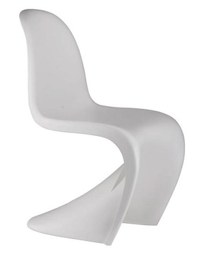 White Verner Panton S chair Amazon