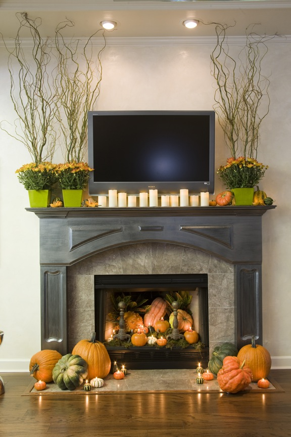 Decorate Your Mantle For Fall At Home In Arkansas