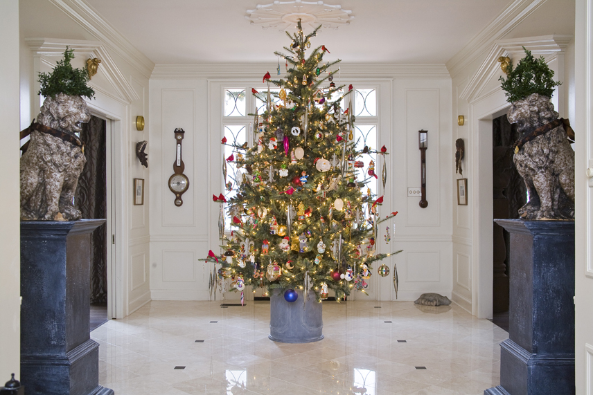 a simple but elegant christmas - Simple But Elegant Christmas Tree Decorations
