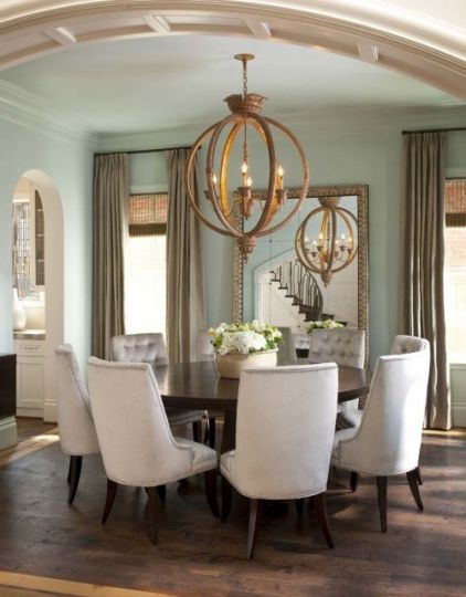 Perfect From Publisher Kelly Fraiser: U201cLove A Round Dining Room Table. Everything  About This Room Is Gorgeous.u201d {u201cDesigning A Dining Room Fit For  Entertainingu201d From ...