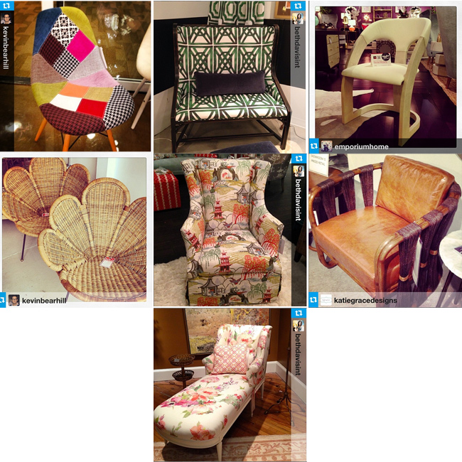 At Home in Arkansas Blog | 14 April 2014 |High Point Market Instagram Roundup, Part One