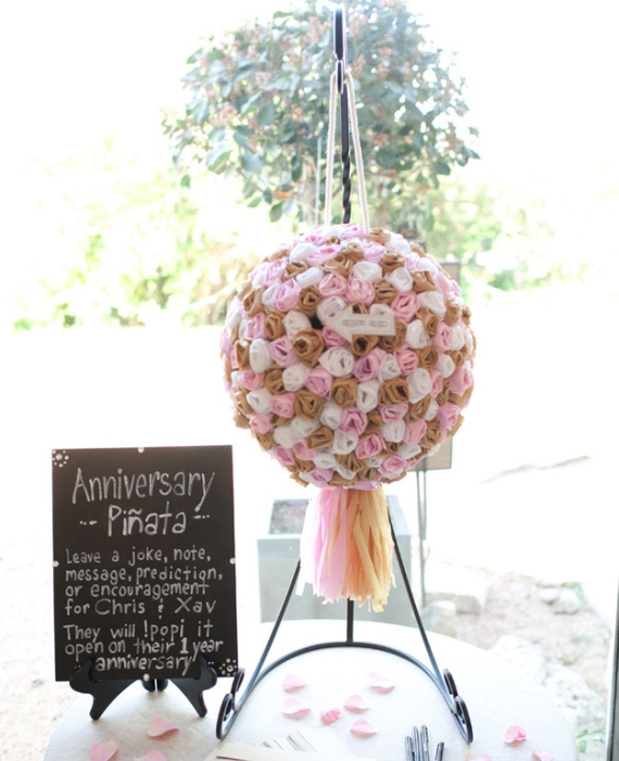 "Emmaline Bride ""Guest Book Alert: Wedding Piñata"""