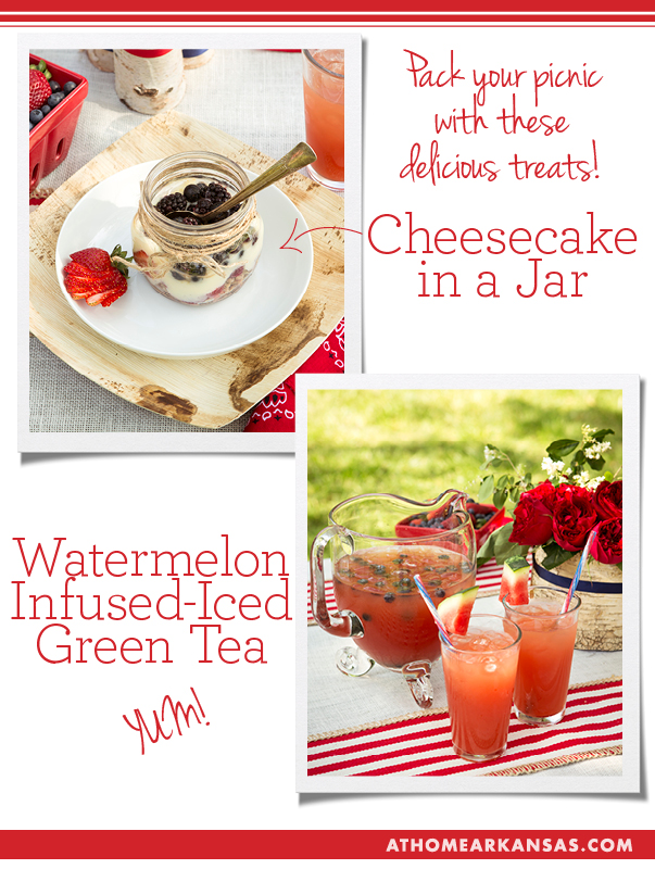 At Home in Arkansas blog | 1 July 14 | Patriotic Picnic Recipes