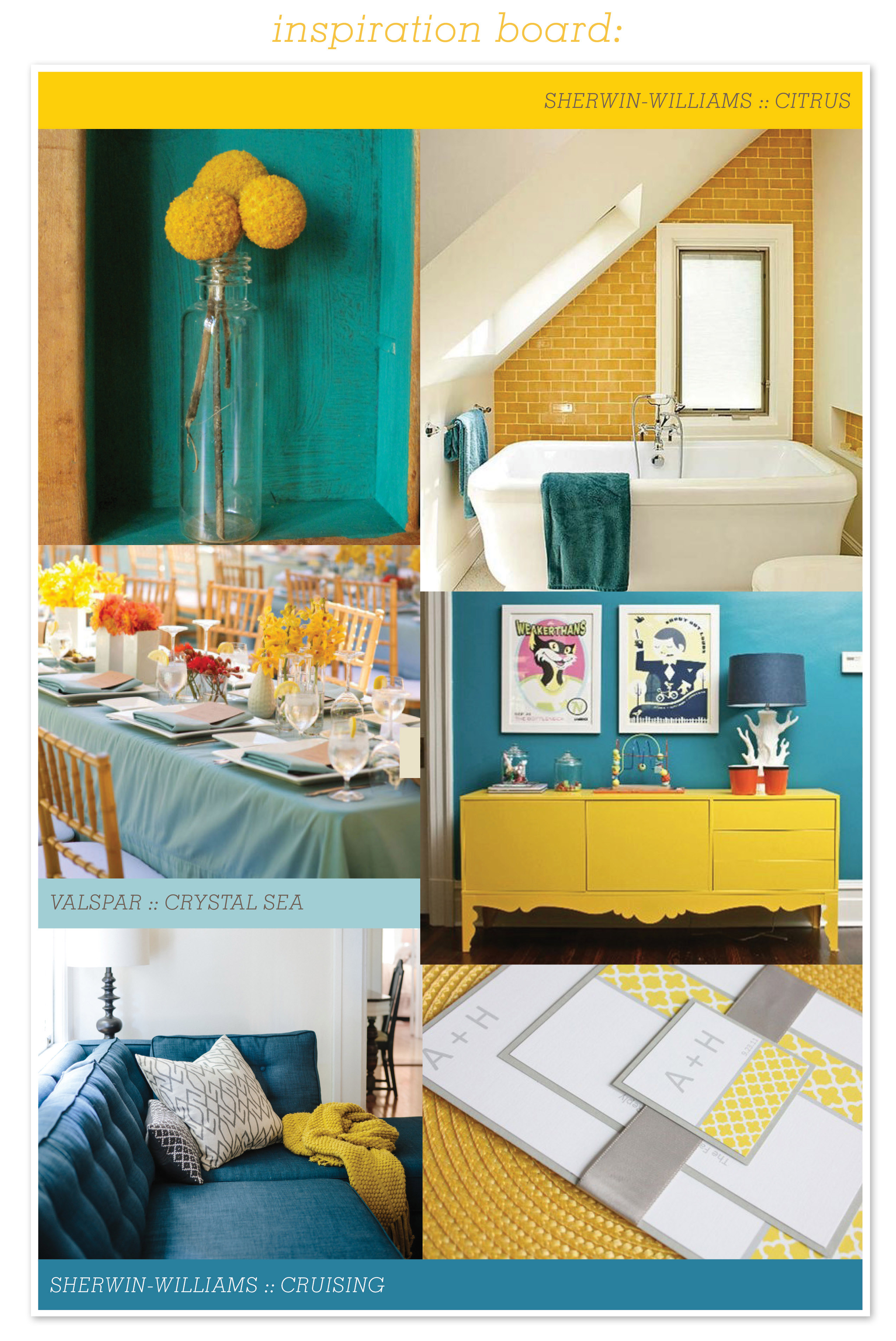At Home in Arkansas blog | 25 August 2014 | Color Coordinated: Dining in Color