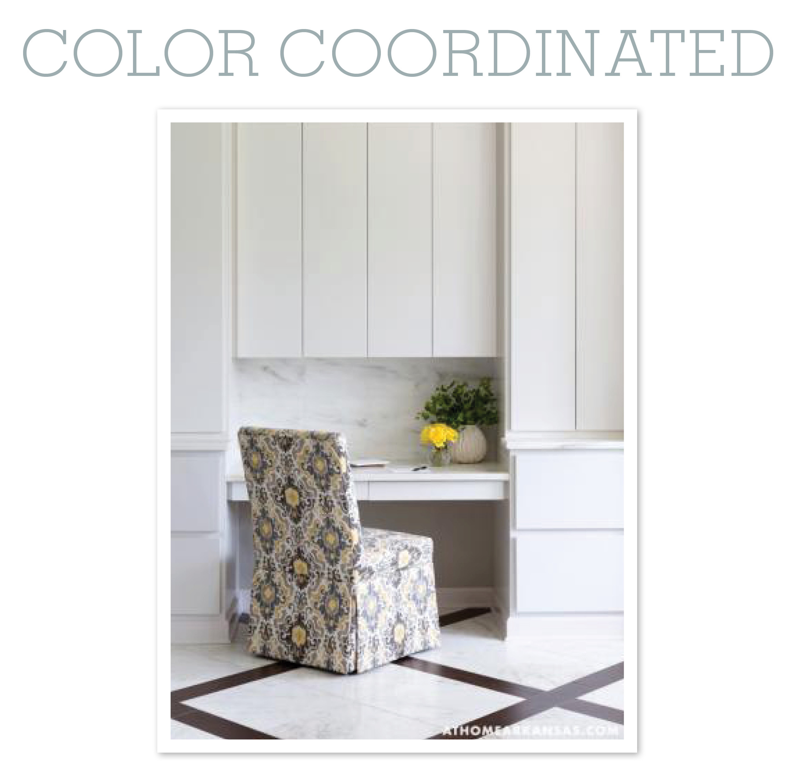Color Coordinated: All Together Now | At Home in Arkansas blog