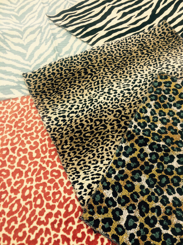 At Home in Arkansas blog | Talking Textiles with Kelli Wilson: Wild for Animal Print