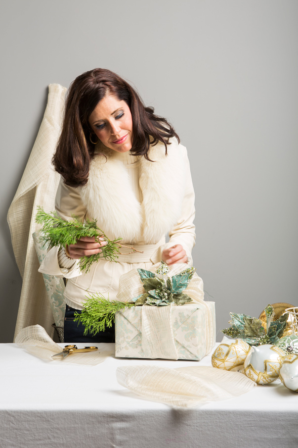 "At Home in Arkansas blog | DIY ""Wrap"" Session with Shayla Copas"