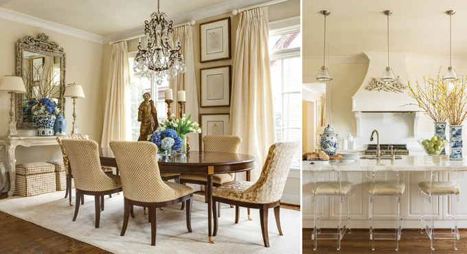 Simplicity Is The Ultimate Elegance Says Designer Debi Davis Of A Monochromatic Sophisticated Home She Recently Redesigned For Client In Little Rock