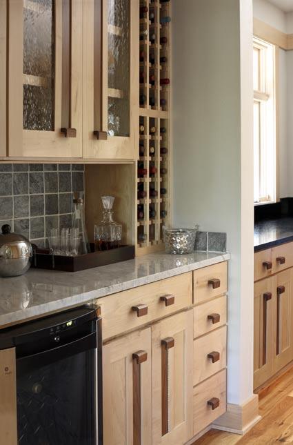 Jennifer Lewis's kitchen designed by deMX Architecture.