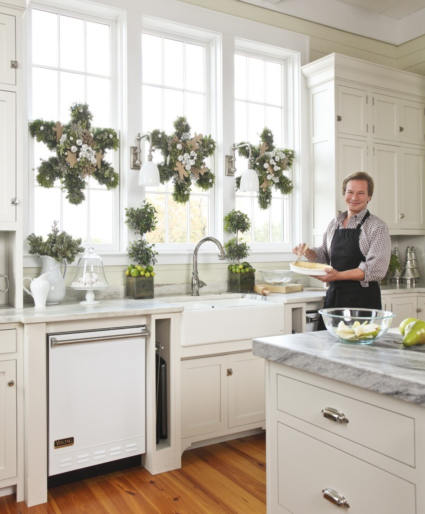 Holiday help from p allen at home arkansas - Addobbi natalizi per cucina ...