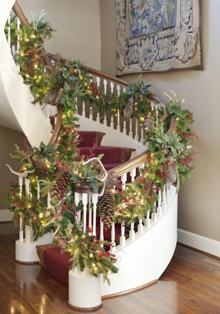 Welcoming and warm - Decorar casa en navidad ...