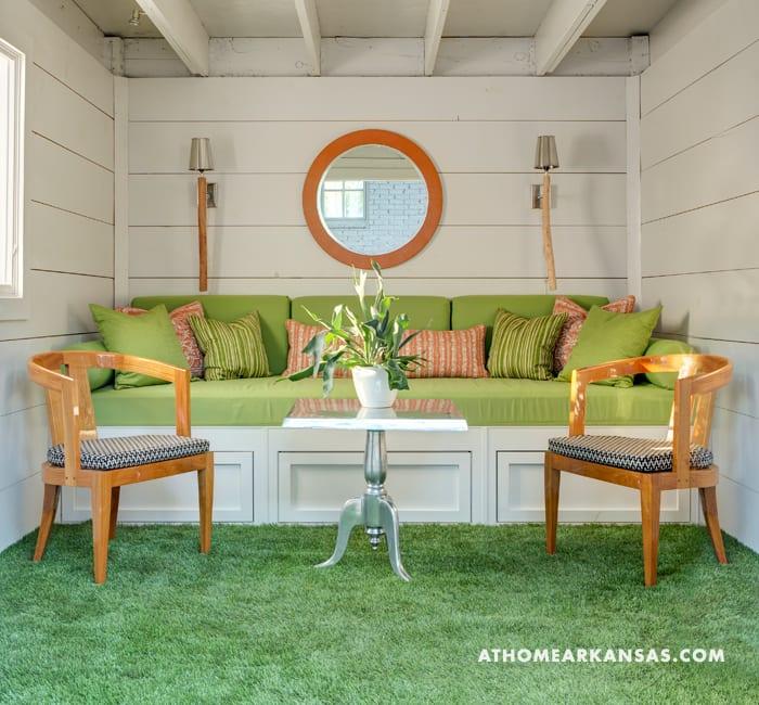 Daniel Keeley's outdoor living design