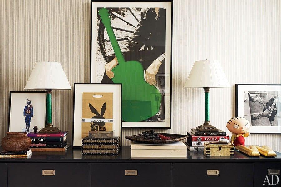 Architectural Digest, Design by Jeffrey Bilhuber, Photo by William Waldron