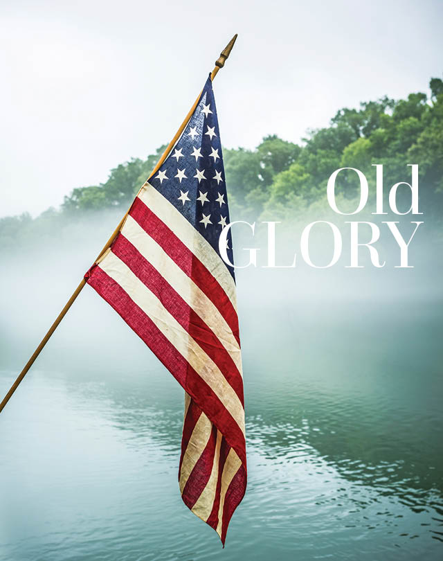Old Glory | At Home in Arkansas | July 2015