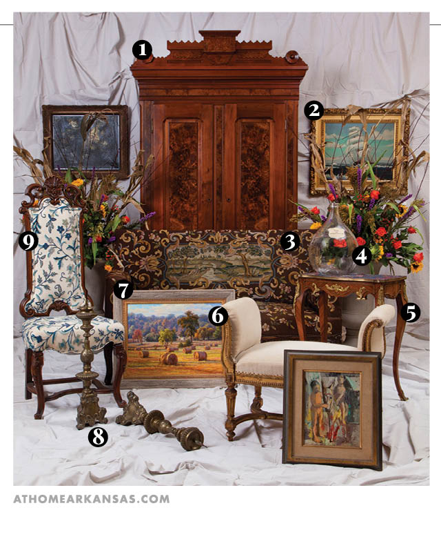 The Art Antiques Guide At Home In Arkansas