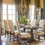 A grandfather clock from the homeowner's previous residence was revived with a Swedish finish and now stands in the home's dining room. At Home in Arkansas | November 2015