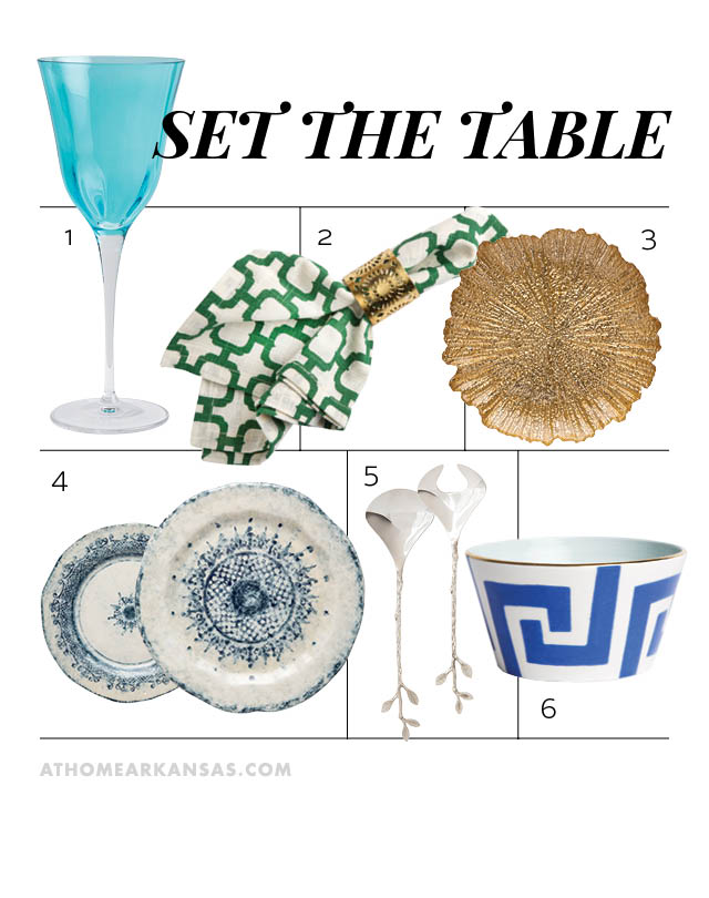 Set the Table | At Home in Arkansas | Jan/Feb 2016