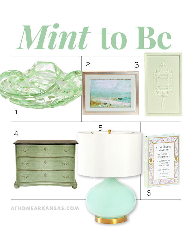 Mint to Be | At Home in Arkansas | March 2016