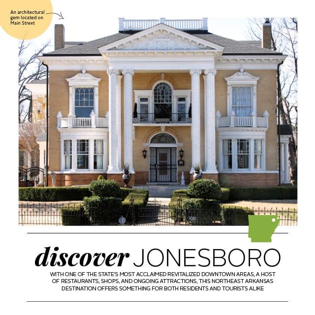 Discover Jonesboro | At Home in Arkansas | April 2016