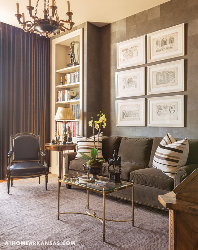 high rise high style at home in arkansas. Black Bedroom Furniture Sets. Home Design Ideas