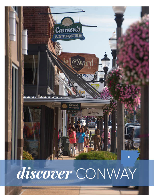 Discover: Conway | At Home in Arkansas | May 2016