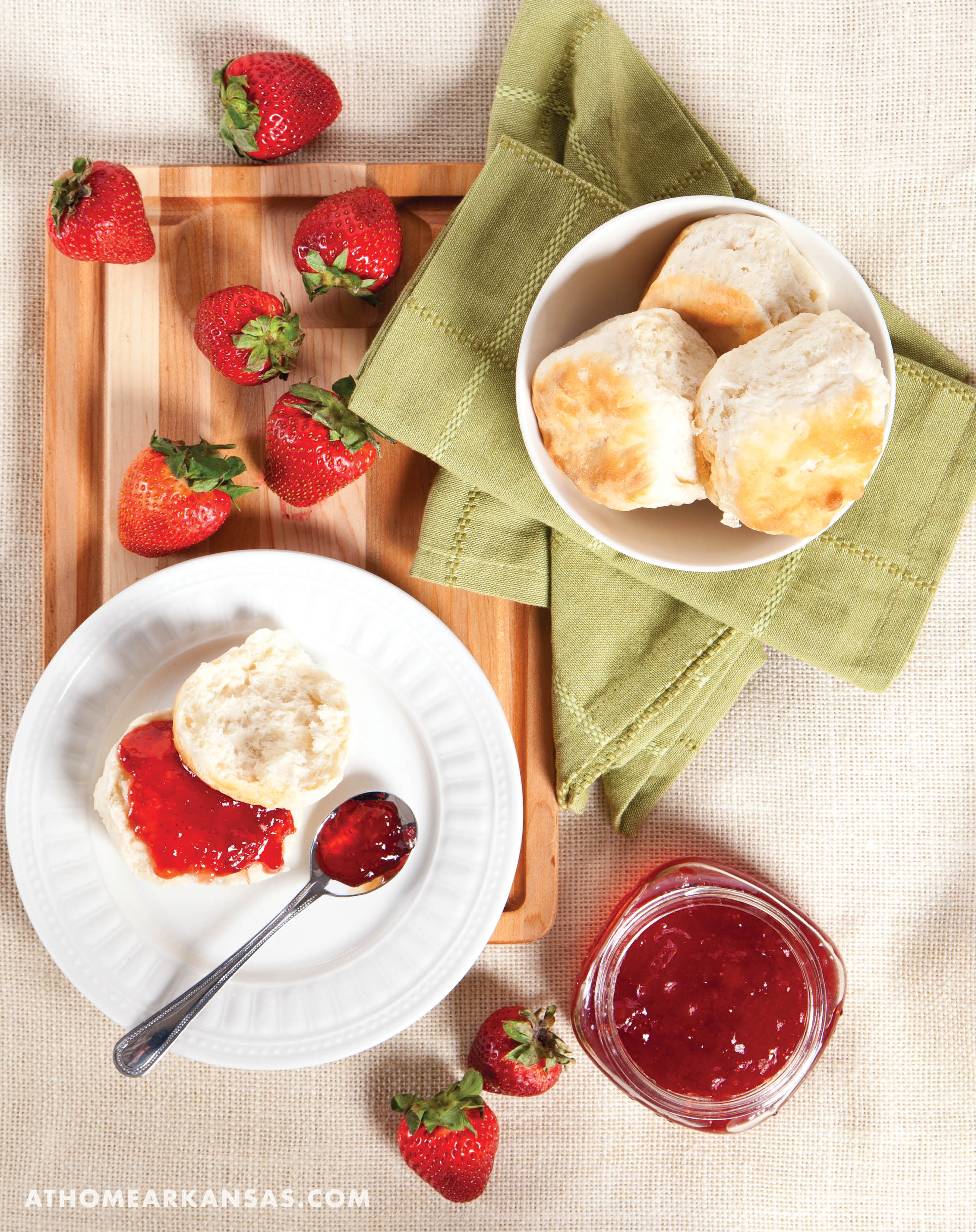 The Sweetness of Strawberries | At Home in Arkansas | May 2016