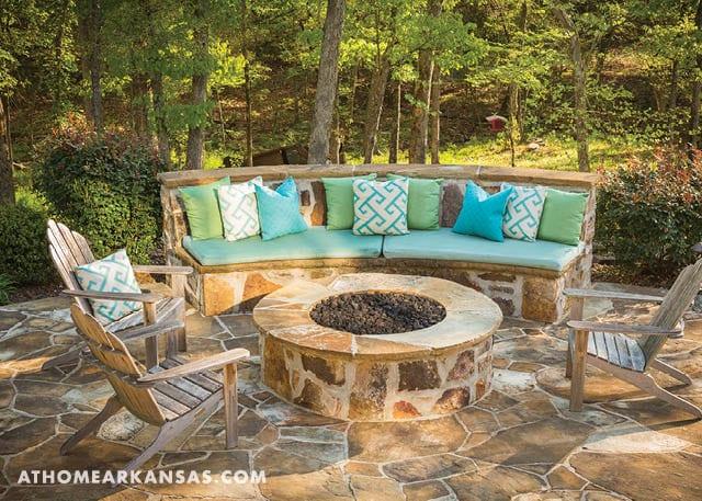 Backyard Haven | At Home in Arkansas | June 2016