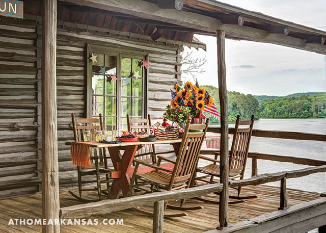 All-American Retreat | At Home in Arkansas | July 2016