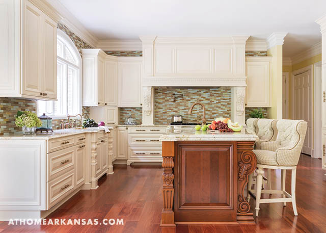 Flawless Finishes | At Home in Arkansas | September 2016