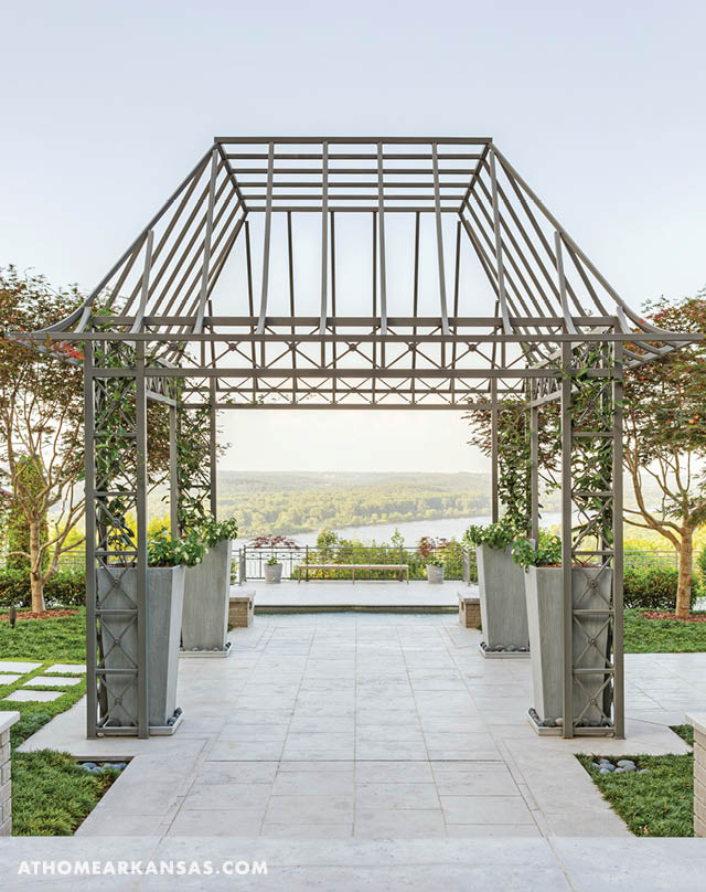 When the current homeowners moved in, they began restoring the gardens to their former glory with the help of Scott Connerly at Landscape Architects.