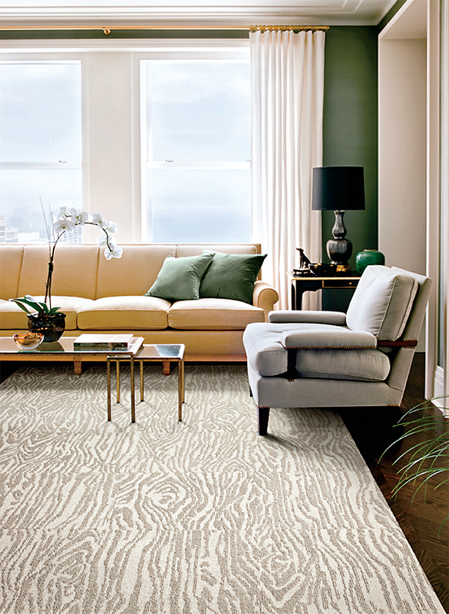 Faux Bois Carpet Tiles