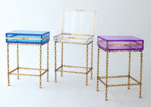 Julia-Buckingham's-Trinket-table-which-comes-in-three-colors-on-view-at-Global-Views-during-WNWN.
