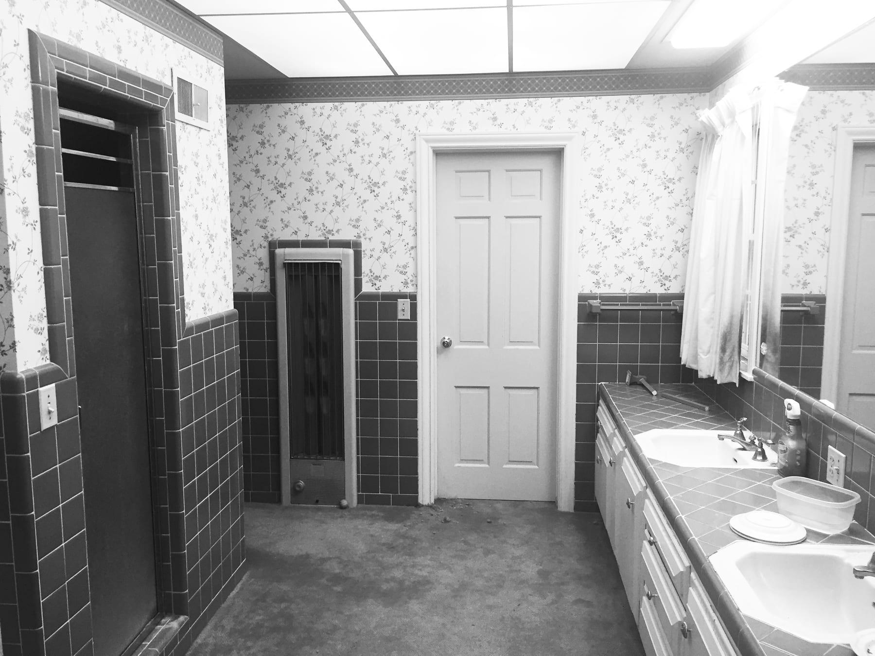 White apron latham - Before