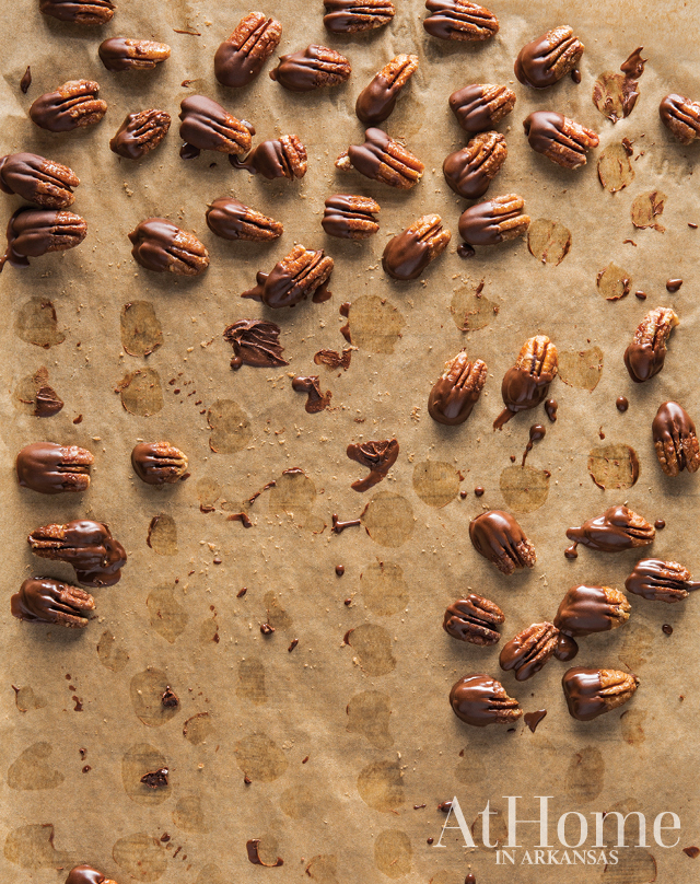 Chocolate Spiced Pecan recipe by Amy Hannon of Euna Mae's
