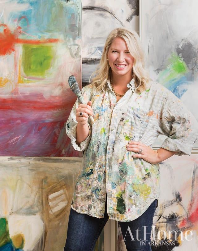 Northwest Arkansas artist Allison Hobbs