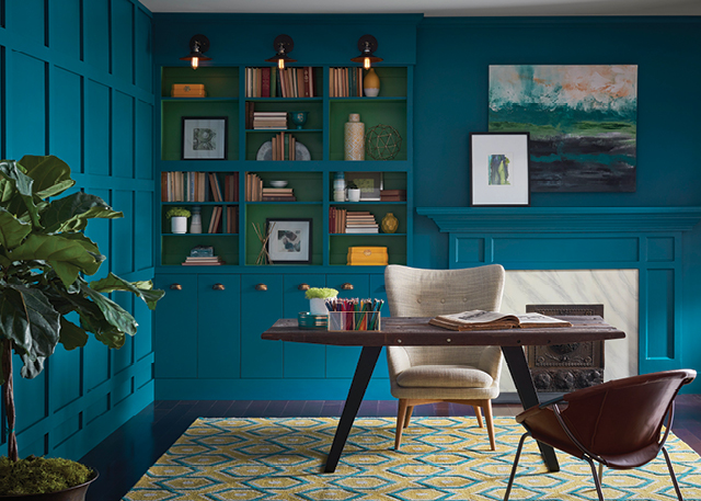 """Don't be afraid to experiment with color. Of all the decisions you are making when building or renovating your home, painting the walls is the least permanent decision you will make."" — Sue Wadden, Sherwin-Williams Color Expert"