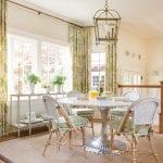breakfast nook, kitchen style, interior design, melissa haynes