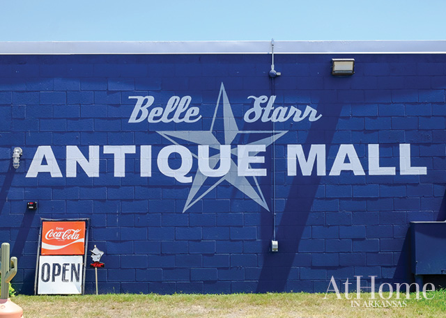 Belle Starr Antique Mall in Fort Smith, Arkansas