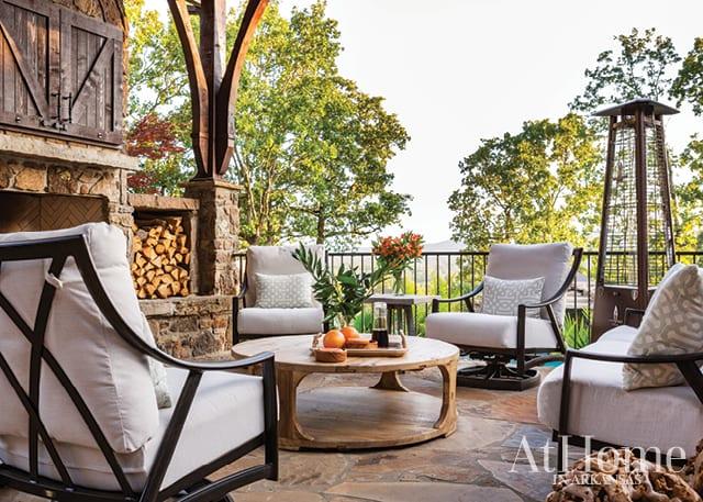 Backyard retreat in west Little Rock designed by Chris H. Olsen