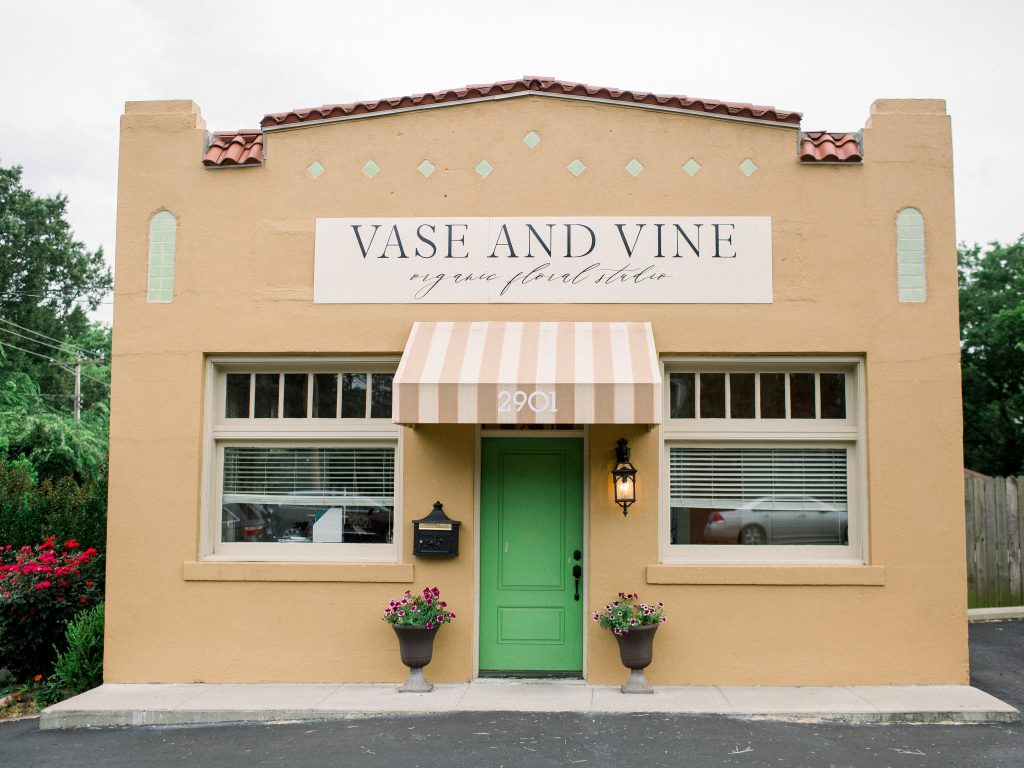 Vase & Vine in Little Rock, Arkansas