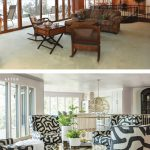 before and after, lake house, HOWSE