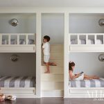 Fun bunk room for four in this family home in Little Rock, Arkansas
