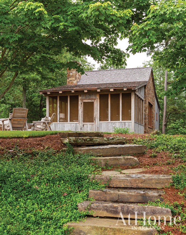 Designer Daniel Keeley helps a family create a camp-style retreat amidst a natural setting in North Arkansas